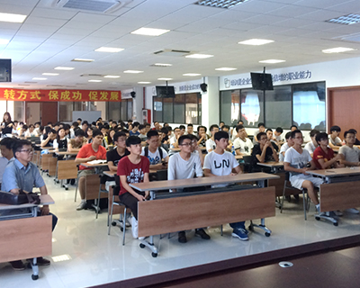 Enterprise Practice of CNC Major Students of Shanghai Second Polytechnic University